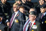 Remembrance Sunday at the Cenotaph in London 2014: Group B8 - Royal Engineers Association. Press stand opposite the Foreign Office building, Whitehall, London SW1, London, Greater London, United Kingdom, on 09 November 2014 at 12:08, image #1566