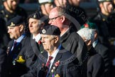 Remembrance Sunday at the Cenotaph in London 2014: Group B8 - Royal Engineers Association. Press stand opposite the Foreign Office building, Whitehall, London SW1, London, Greater London, United Kingdom, on 09 November 2014 at 12:08, image #1569