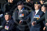 Remembrance Sunday at the Cenotaph in London 2014: Group B9 - Royal Engineers Bomb Disposal Association. Press stand opposite the Foreign Office building, Whitehall, London SW1, London, Greater London, United Kingdom, on 09 November 2014 at 12:08, image #1574