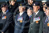 Remembrance Sunday at the Cenotaph in London 2014: Group B9 - Royal Engineers Bomb Disposal Association. Press stand opposite the Foreign Office building, Whitehall, London SW1, London, Greater London, United Kingdom, on 09 November 2014 at 12:08, image #1576