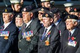 Remembrance Sunday at the Cenotaph in London 2014: Group B9 - Royal Engineers Bomb Disposal Association. Press stand opposite the Foreign Office building, Whitehall, London SW1, London, Greater London, United Kingdom, on 09 November 2014 at 12:08, image #1577