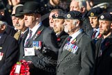 Remembrance Sunday at the Cenotaph in London 2014: Group B9 - Royal Engineers Bomb Disposal Association. Press stand opposite the Foreign Office building, Whitehall, London SW1, London, Greater London, United Kingdom, on 09 November 2014 at 12:08, image #1579