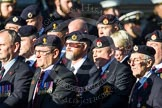 Remembrance Sunday at the Cenotaph in London 2014: Group B9 - Royal Engineers Bomb Disposal Association. Press stand opposite the Foreign Office building, Whitehall, London SW1, London, Greater London, United Kingdom, on 09 November 2014 at 12:08, image #1581