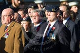Remembrance Sunday at the Cenotaph in London 2014: Group B9 - Royal Engineers Bomb Disposal Association. Press stand opposite the Foreign Office building, Whitehall, London SW1, London, Greater London, United Kingdom, on 09 November 2014 at 12:08, image #1585