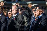 Remembrance Sunday at the Cenotaph in London 2014: Group B9 - Royal Engineers Bomb Disposal Association. Press stand opposite the Foreign Office building, Whitehall, London SW1, London, Greater London, United Kingdom, on 09 November 2014 at 12:08, image #1587