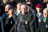 Remembrance Sunday at the Cenotaph in London 2014: Group B11 - Royal Signals Association. Press stand opposite the Foreign Office building, Whitehall, London SW1, London, Greater London, United Kingdom, on 09 November 2014 at 12:08, image #1610