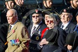 Remembrance Sunday at the Cenotaph in London 2014: Group B13 - Royal Army Service Corps & Royal Corps of Transport Association. Press stand opposite the Foreign Office building, Whitehall, London SW1, London, Greater London, United Kingdom, on 09 November 2014 at 12:09, image #1641