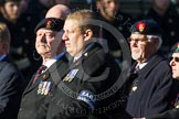 Remembrance Sunday at the Cenotaph in London 2014: Group B14 - RAOC Association. Press stand opposite the Foreign Office building, Whitehall, London SW1, London, Greater London, United Kingdom, on 09 November 2014 at 12:09, image #1657