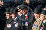 Remembrance Sunday at the Cenotaph in London 2014: Group B15 - Army Catering Corps Association. Press stand opposite the Foreign Office building, Whitehall, London SW1, London, Greater London, United Kingdom, on 09 November 2014 at 12:09, image #1660