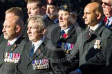 Remembrance Sunday at the Cenotaph in London 2014: Group B19 - Royal Electrical & Mechanical Engineers Association. Press stand opposite the Foreign Office building, Whitehall, London SW1, London, Greater London, United Kingdom, on 09 November 2014 at 12:10, image #1717