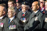 Remembrance Sunday at the Cenotaph in London 2014: Group B19 - Royal Electrical & Mechanical Engineers Association. Press stand opposite the Foreign Office building, Whitehall, London SW1, London, Greater London, United Kingdom, on 09 November 2014 at 12:10, image #1718
