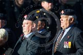 Remembrance Sunday at the Cenotaph in London 2014: Group B19 - Royal Electrical & Mechanical Engineers Association. Press stand opposite the Foreign Office building, Whitehall, London SW1, London, Greater London, United Kingdom, on 09 November 2014 at 12:10, image #1727