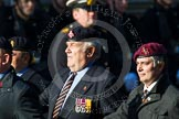 Remembrance Sunday at the Cenotaph in London 2014: Group B19 - Royal Electrical & Mechanical Engineers Association. Press stand opposite the Foreign Office building, Whitehall, London SW1, London, Greater London, United Kingdom, on 09 November 2014 at 12:10, image #1728