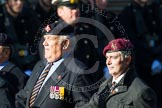 Remembrance Sunday at the Cenotaph in London 2014: Group B19 - Royal Electrical & Mechanical Engineers Association. Press stand opposite the Foreign Office building, Whitehall, London SW1, London, Greater London, United Kingdom, on 09 November 2014 at 12:10, image #1729