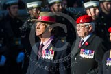 Remembrance Sunday at the Cenotaph in London 2014: Group B20 - Royal Military Police Association. Press stand opposite the Foreign Office building, Whitehall, London SW1, London, Greater London, United Kingdom, on 09 November 2014 at 12:11, image #1731