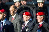 Remembrance Sunday at the Cenotaph in London 2014: Group B20 - Royal Military Police Association. Press stand opposite the Foreign Office building, Whitehall, London SW1, London, Greater London, United Kingdom, on 09 November 2014 at 12:11, image #1756