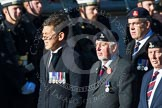 Remembrance Sunday at the Cenotaph in London 2014: Group B22 - Royal Army Pay Corps Regimental Association. Press stand opposite the Foreign Office building, Whitehall, London SW1, London, Greater London, United Kingdom, on 09 November 2014 at 12:11, image #1761