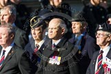 Remembrance Sunday at the Cenotaph in London 2014: Group B22 - Royal Army Pay Corps Regimental Association. Press stand opposite the Foreign Office building, Whitehall, London SW1, London, Greater London, United Kingdom, on 09 November 2014 at 12:11, image #1764