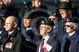 Remembrance Sunday at the Cenotaph in London 2014: Group B22 - Royal Army Pay Corps Regimental Association. Press stand opposite the Foreign Office building, Whitehall, London SW1, London, Greater London, United Kingdom, on 09 November 2014 at 12:11, image #1765