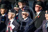 Remembrance Sunday at the Cenotaph in London 2014: Group B22 - Royal Army Pay Corps Regimental Association. Press stand opposite the Foreign Office building, Whitehall, London SW1, London, Greater London, United Kingdom, on 09 November 2014 at 12:11, image #1766