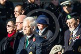 Remembrance Sunday at the Cenotaph in London 2014: Group B23 - Royal Army Veterinary Corps & Royal Army Dental Corps. Press stand opposite the Foreign Office building, Whitehall, London SW1, London, Greater London, United Kingdom, on 09 November 2014 at 12:11, image #1769