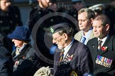 Remembrance Sunday at the Cenotaph in London 2014: Group B23 - Royal Army Veterinary Corps & Royal Army Dental Corps. Press stand opposite the Foreign Office building, Whitehall, London SW1, London, Greater London, United Kingdom, on 09 November 2014 at 12:11, image #1770