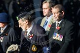 Remembrance Sunday at the Cenotaph in London 2014: Group B23 - Royal Army Veterinary Corps & Royal Army Dental Corps. Press stand opposite the Foreign Office building, Whitehall, London SW1, London, Greater London, United Kingdom, on 09 November 2014 at 12:11, image #1771