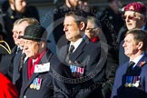 Remembrance Sunday at the Cenotaph in London 2014: Group B24 - Royal Army Physical Training Corps. Press stand opposite the Foreign Office building, Whitehall, London SW1, London, Greater London, United Kingdom, on 09 November 2014 at 12:11, image #1781