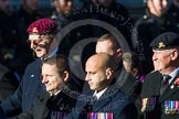 Remembrance Sunday at the Cenotaph in London 2014: Group B24 - Royal Army Physical Training Corps. Press stand opposite the Foreign Office building, Whitehall, London SW1, London, Greater London, United Kingdom, on 09 November 2014 at 12:11, image #1785
