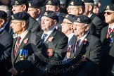 Remembrance Sunday at the Cenotaph in London 2014: Group B30 - 16/5th Queen's Royal Lancers. Press stand opposite the Foreign Office building, Whitehall, London SW1, London, Greater London, United Kingdom, on 09 November 2014 at 12:13, image #1893