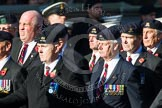 Remembrance Sunday at the Cenotaph in London 2014: Group B30 - 16/5th Queen's Royal Lancers. Press stand opposite the Foreign Office building, Whitehall, London SW1, London, Greater London, United Kingdom, on 09 November 2014 at 12:13, image #1904