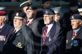 Remembrance Sunday at the Cenotaph in London 2014: Group B30 - 16/5th Queen's Royal Lancers. Press stand opposite the Foreign Office building, Whitehall, London SW1, London, Greater London, United Kingdom, on 09 November 2014 at 12:13, image #1907