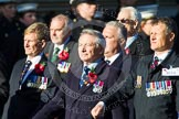 Remembrance Sunday at the Cenotaph in London 2014: Group B34 - Association of Ammunition Technicians. Press stand opposite the Foreign Office building, Whitehall, London SW1, London, Greater London, United Kingdom, on 09 November 2014 at 12:14, image #1920