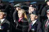 Remembrance Sunday at the Cenotaph in London 2014: Group B35 - Beachley Old Boys Association. Press stand opposite the Foreign Office building, Whitehall, London SW1, London, Greater London, United Kingdom, on 09 November 2014 at 12:14, image #1937