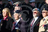 Remembrance Sunday at the Cenotaph in London 2014: Group B35 - Beachley Old Boys Association. Press stand opposite the Foreign Office building, Whitehall, London SW1, London, Greater London, United Kingdom, on 09 November 2014 at 12:14, image #1938
