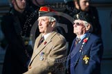 Remembrance Sunday at the Cenotaph in London 2014: Group B35 - Beachley Old Boys Association. Press stand opposite the Foreign Office building, Whitehall, London SW1, London, Greater London, United Kingdom, on 09 November 2014 at 12:14, image #1940
