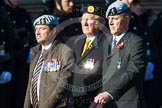 Remembrance Sunday at the Cenotaph in London 2014: Group B36 - Arborfield Old Boys Association. Press stand opposite the Foreign Office building, Whitehall, London SW1, London, Greater London, United Kingdom, on 09 November 2014 at 12:14, image #1942