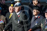 Remembrance Sunday at the Cenotaph in London 2014: Group B36 - Arborfield Old Boys Association. Press stand opposite the Foreign Office building, Whitehall, London SW1, London, Greater London, United Kingdom, on 09 November 2014 at 12:14, image #1943