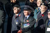 Remembrance Sunday at the Cenotaph in London 2014: Group B36 - Arborfield Old Boys Association. Press stand opposite the Foreign Office building, Whitehall, London SW1, London, Greater London, United Kingdom, on 09 November 2014 at 12:14, image #1944