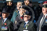 Remembrance Sunday at the Cenotaph in London 2014: Group B36 - Arborfield Old Boys Association. Press stand opposite the Foreign Office building, Whitehall, London SW1, London, Greater London, United Kingdom, on 09 November 2014 at 12:14, image #1945
