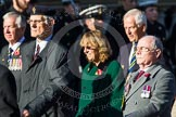 Remembrance Sunday at the Cenotaph in London 2014: Group B36 - Arborfield Old Boys Association. Press stand opposite the Foreign Office building, Whitehall, London SW1, London, Greater London, United Kingdom, on 09 November 2014 at 12:14, image #1947