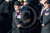 Remembrance Sunday at the Cenotaph in London 2014: Group B37 - Gallipoli & Dardenelles International. Press stand opposite the Foreign Office building, Whitehall, London SW1, London, Greater London, United Kingdom, on 09 November 2014 at 12:14, image #1951