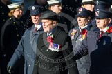 Remembrance Sunday at the Cenotaph in London 2014: Group M1 - Transport For London. Press stand opposite the Foreign Office building, Whitehall, London SW1, London, Greater London, United Kingdom, on 09 November 2014 at 12:14, image #1959