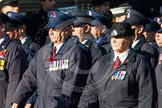 Remembrance Sunday at the Cenotaph in London 2014: Group M1 - Transport For London. Press stand opposite the Foreign Office building, Whitehall, London SW1, London, Greater London, United Kingdom, on 09 November 2014 at 12:14, image #1964