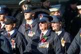 Remembrance Sunday at the Cenotaph in London 2014: Group M1 - Transport For London. Press stand opposite the Foreign Office building, Whitehall, London SW1, London, Greater London, United Kingdom, on 09 November 2014 at 12:15, image #1970