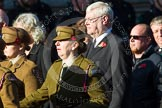 Remembrance Sunday at the Cenotaph in London 2014: Group M2 - First Aid Nursing Yeomanry (Princess Royal's Volunteers Corps). Press stand opposite the Foreign Office building, Whitehall, London SW1, London, Greater London, United Kingdom, on 09 November 2014 at 12:15, image #1981