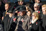 Remembrance Sunday at the Cenotaph in London 2014: Group M4 - Children of the Far East Prisoners of War. Press stand opposite the Foreign Office building, Whitehall, London SW1, London, Greater London, United Kingdom, on 09 November 2014 at 12:15, image #1992