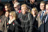 Remembrance Sunday at the Cenotaph in London 2014: Group M4 - Children of the Far East Prisoners of War. Press stand opposite the Foreign Office building, Whitehall, London SW1, London, Greater London, United Kingdom, on 09 November 2014 at 12:15, image #1993