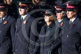 Remembrance Sunday at the Cenotaph in London 2014: Group M7 - Salvation Army. Press stand opposite the Foreign Office building, Whitehall, London SW1, London, Greater London, United Kingdom, on 09 November 2014 at 12:15, image #2027