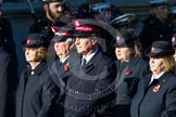 Remembrance Sunday at the Cenotaph in London 2014: Group M7 - Salvation Army. Press stand opposite the Foreign Office building, Whitehall, London SW1, London, Greater London, United Kingdom, on 09 November 2014 at 12:15, image #2028